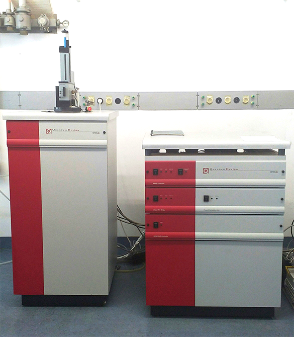 Quantum Design MPMS XL SQUID magnetometer at KU Leuven.